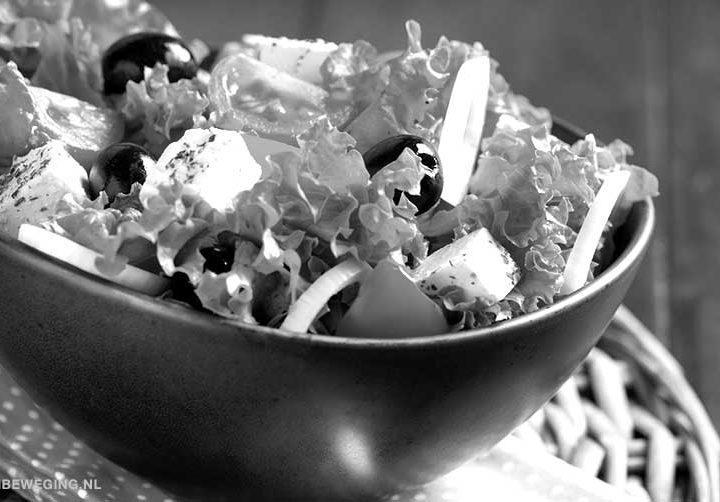 Recept voor een gezonde leefstijl 1: Salade to go
