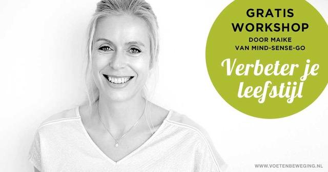 Workshop 'Verbeter je leefstijl' geeft je een boost voor 2019!